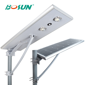 IP66 12V cob outdoor waterproof 25w 30w 40w 50w 60w solar led garden light with pir sensor