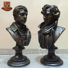 Watson Sherlock Holmes Action Toy Figure Bust Resin Statue Action Figures