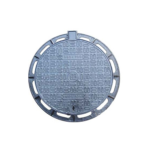 sealed manhole cast iron drain cover sewer pipe