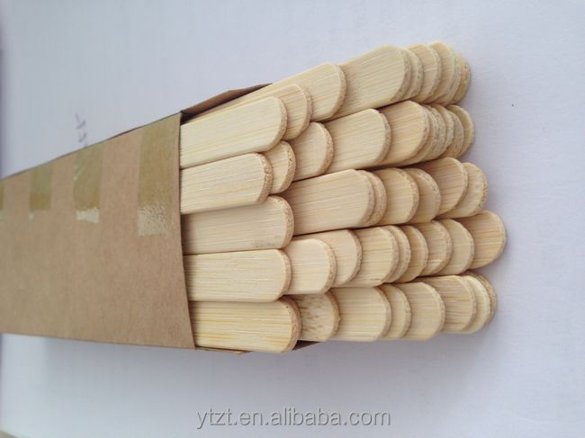 High Quality Food Grade Birch Wooden Popsicle Sticks