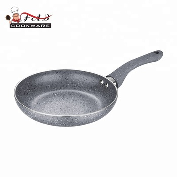 aluminum non-stick  marble coating frying pan with good quality and durable body