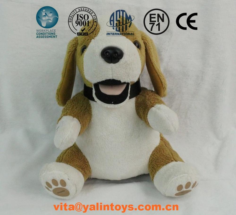Funny Cartoon Ty Beanie Boos Grey Plush Dog Toy For Kids Wholesale