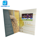 7 inch usb digital video player greeting cards touch screen card brochure