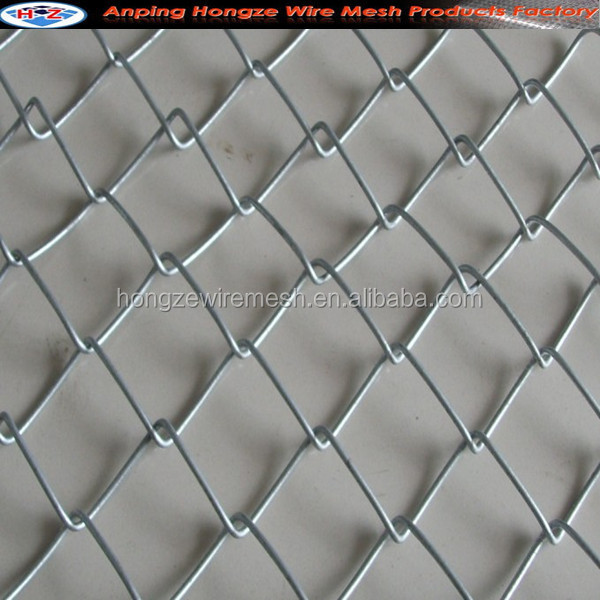 Hebei PVC Coated Chain Link Fence/Electro Galvanized Chain Link Fencing/Hot Dipped Galvanized Chain Link Wire Mes (Manufacturer)