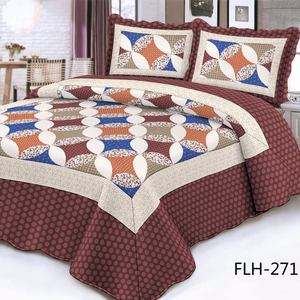 Wholesale Stockused Indian Quilted Quilt Bedspread Kantha Quilt King Size