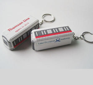 China factory make soft pvc rubber 3d keychain manufacturer in China