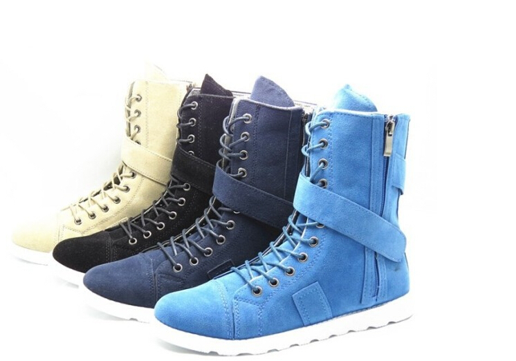 Buy High Top Mens Army Boots Lace Up Fashion Martin Boots With