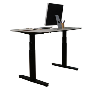 Height Adjustable Electric Standing Desk Frame High Quality Stand Up Desk with Dual Motors 3 Stages Quiet Noise Anti-Colision