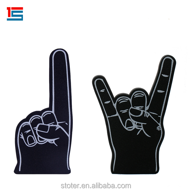 Benutzerdefinierte Sportfans Big Eva Foam Finger Giant Cheer Foam Hand