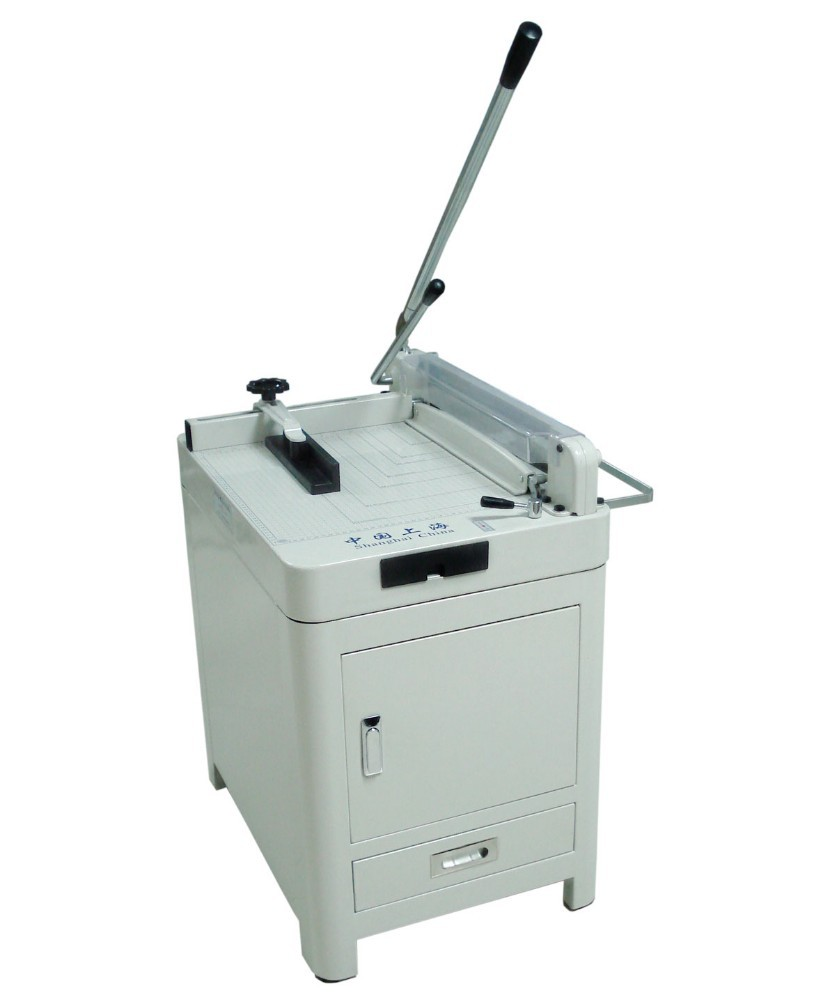 Guillotine Manual Paper Cutter WD-868A3 with Cabinet