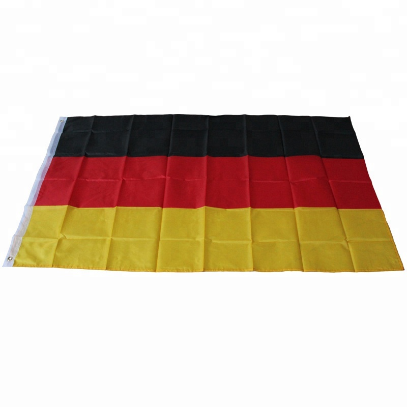 Cheap polyester Germany national flag , black red gold country flag