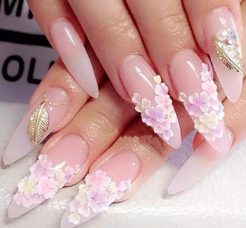 wholesale clear pink white acrylic nail powder