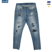 Nieuwe product 2018 heren denim <span class=keywords><strong>jeans</strong></span> back pocket Verkocht Op Alibaba