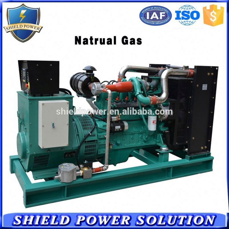 Backup power natural gas engine generator 160kw