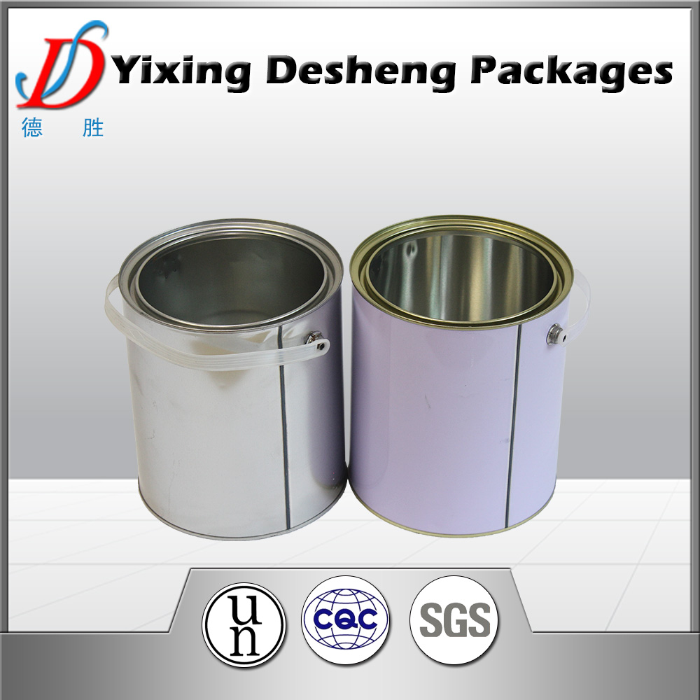 UN approved for coating oil ink used paint tin container/can/bucket