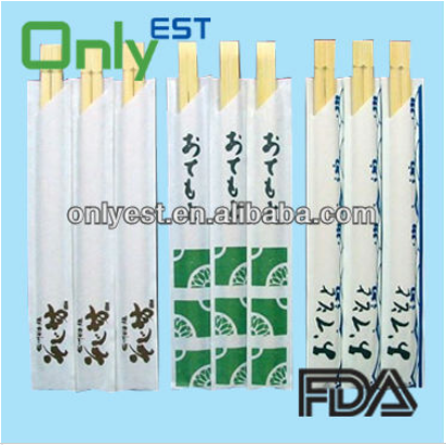 Hot sell good quality bulk disposable bamboo china chopsticks with Logo