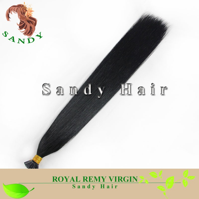 8A Double Drawn Keratin Virgin Human Hair I/U/V/Flat Tip Hair 0.5g 0.7g 1g 2g/strand I-tip Peruvian Hair Extension