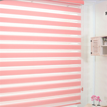 Wholesale China Factory Zebra Roller Blind Fabric Rainbow Colored Window Blinds