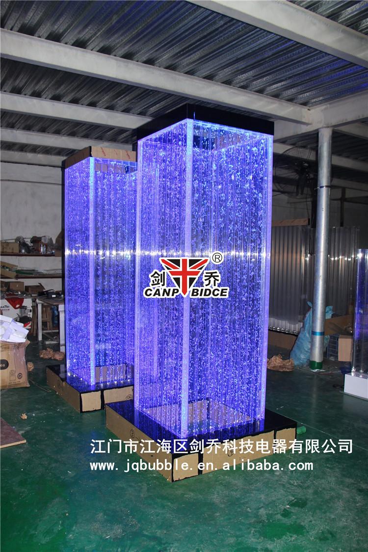 Interior Design For Cafe Acrylic Plexiglass Led Aquarium Bubble ...