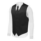 Premium Factory directly supply black vest mens