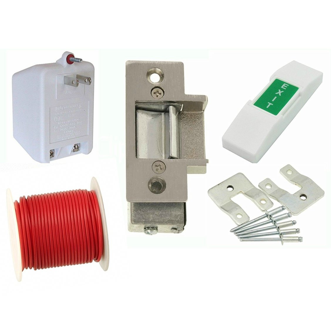 Cheap Electric Strike Lock Wiring Diagram Find Door Get Quotations Lee 14c Commercial Kit For Metal Doors Set Has