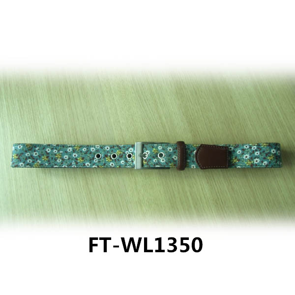 needlepoint belt women - fashion fabric women belt FT-WL1350