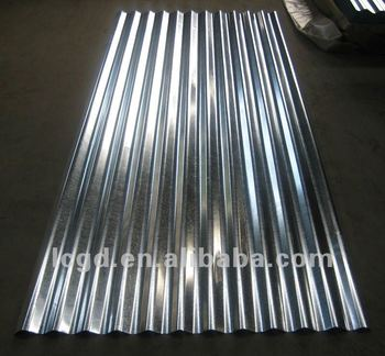zinc galvanized corrugated steel metal roof sheets aluminium tole ondulees galvanisees buy. Black Bedroom Furniture Sets. Home Design Ideas