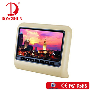 Best selling headrest 9 inch car dvd vcd cd mp3 mp4 player