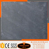 Irregular shaped black slate stone roofing tile with good price