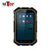 Androild 6.0 quad core tablet pc 7 inch IP67 waterproof tablet pc with voice call function GSM 4G usb ethernet port