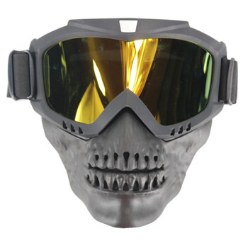 Tactical Mask Harley Goggle Glasses For Nerf Toy Gun Game Rival Ball Outdoor