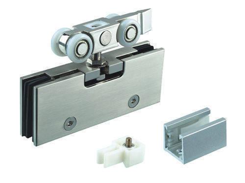 aluminum sliding door track and wheels