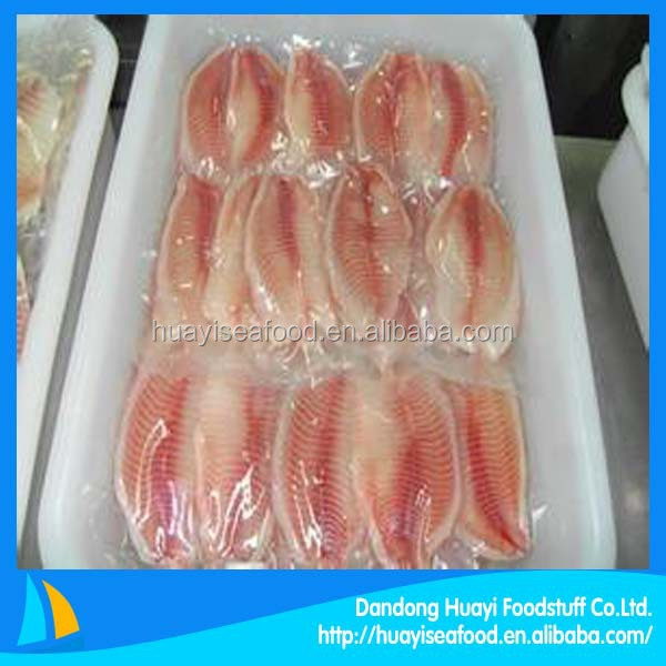 factory mainly produce frozen tilapia fillet with advanced technology