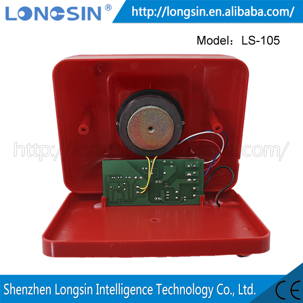 LONGSIN Fire alarm sound Wholesale High Quality Cigarette Smoke Alarm Audible And Visual Alarm Smoke Detector Fire Alarm