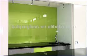 Schienali in vetro splash in vetro temperato piastrelle da cucina