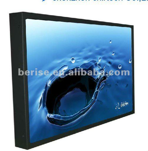 "46"" outdoor lcd digital signage,HDMI,VGA interface board is optional"