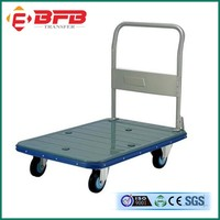Four Wheels Foldable Hand Cart/ Hand Trolley