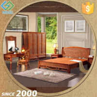 Home Furniture General Use and Rattan Material American Standard Bedroom Set