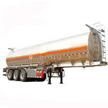 stainless steel oil /fuel tanker semi trailer