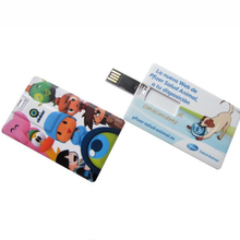 New arriving High quality with Whole warranty USB 2.0 Card pendrive with full color print