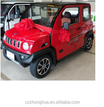 Chinese Low Speed 4 Wheels 4seats EEC certification E-Mark Auto Vehicle Adult Electric car