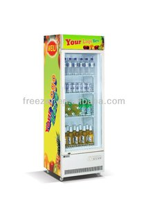 198L Upright commercial display cooler refrigerator