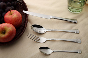 Top Quality Unbreakable Stainless Steel With Mirror Polish rose gold cutlery