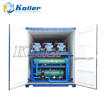 Koller Containerized Automatic Ice Block Machine JDK100 for Faster and Easier ice production