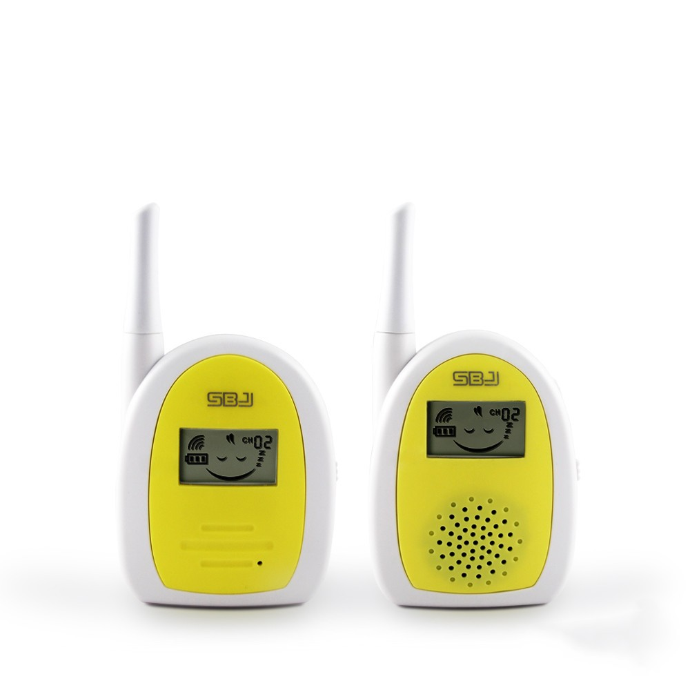 long range two way walkie phone small wireless digital audio baby monitor