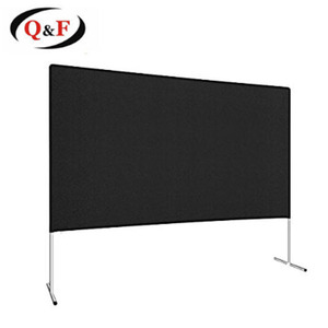 120 inch fast fold portable projection / projector screen