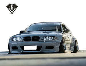 For Bmw E36 E46 Body Kit 3 Series Wide Body Kit Rocket Bunny Style For E46 E36