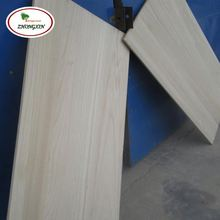 Good Price A Grade Solid Wood Wall Panel Paulownia Timber Weather Boards