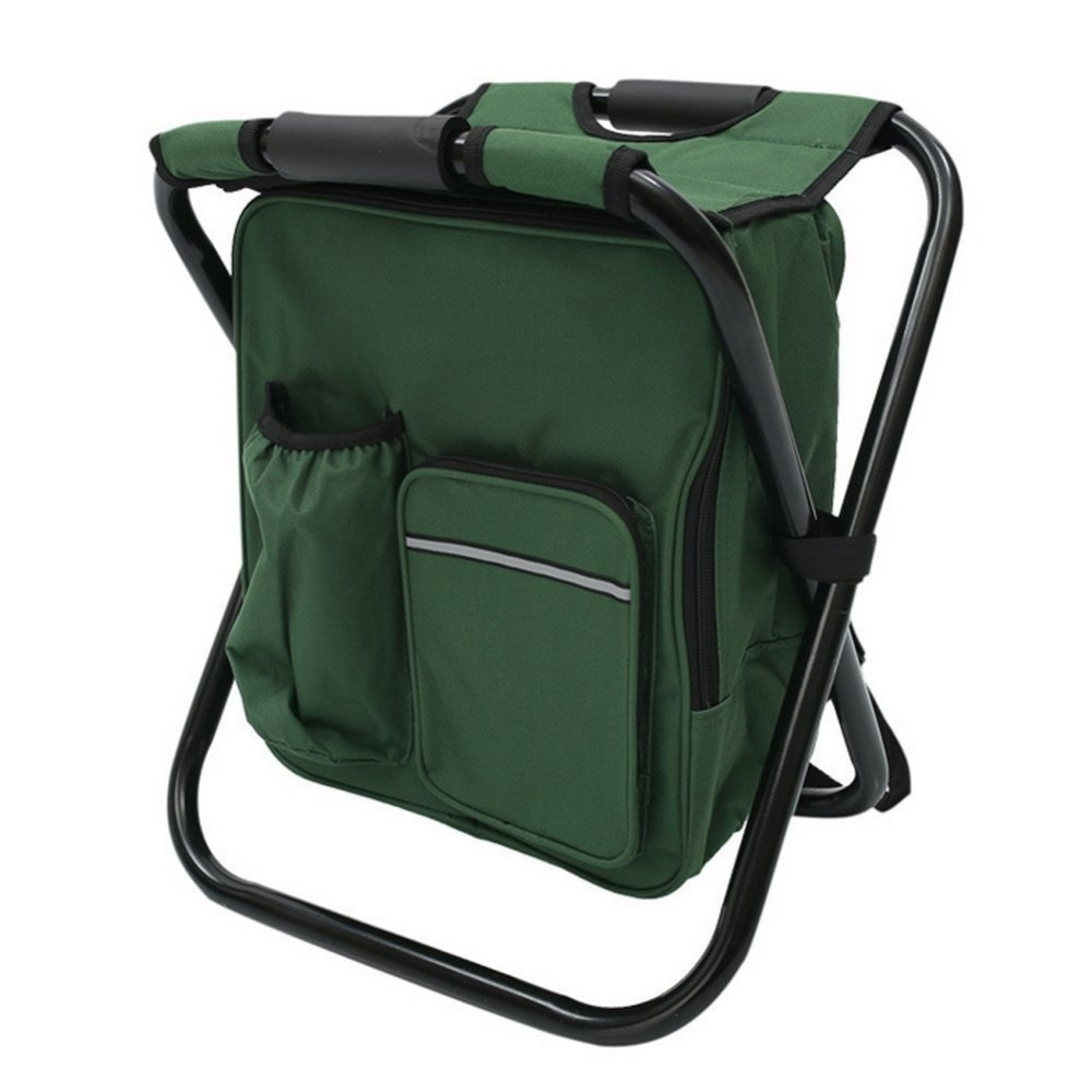 Backpack fishing chair - Folding Chair With Cooler Bag Folding Chair With Cooler Bag