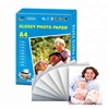 115g A4 size quality inkjet high glossy photo paper A4 for inkjet printers printing photos or brouchers